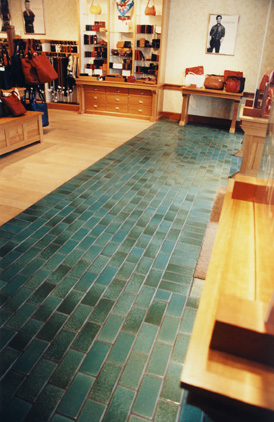 Glazed Quarry Pavers