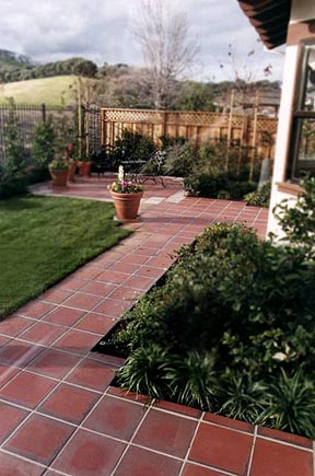 Unglazed Quarry Pavers