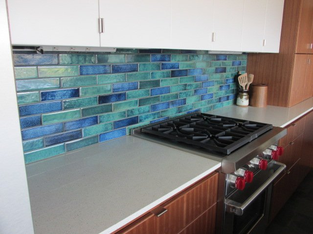 Aquarium Blend-Kitchen Back splash Installation