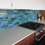 Aquarium Blend-Kitchen Back splash Installation