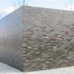 Glazed Brick Corner