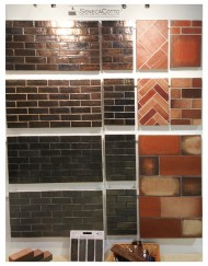 CottoMetallic display boards at Coverings