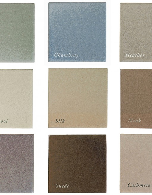 Seneca Satin color palette