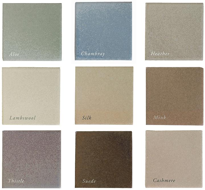 Satin color palette