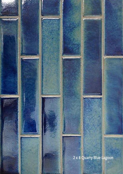 2 1 4 x 8 quarry paver blue lagoon seneca tiles for New tile technology