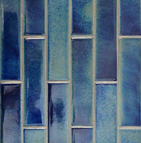 2 1/4 x 8 Quarry Paver Blue Lagoon