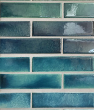 All 4 Studio Colors in one board: Water Lily, Blue Lagoon, Sea Glass, Coastal Blue -