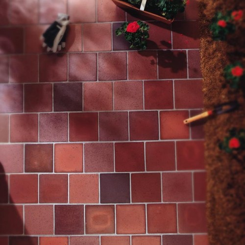 Unglazed Quarry Paver Collection - Red Ironspot