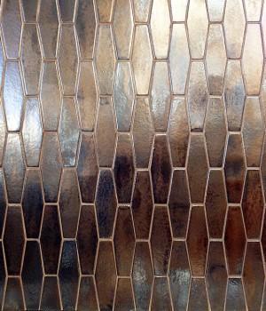 SenecaMetal Burnished Copper Hex
