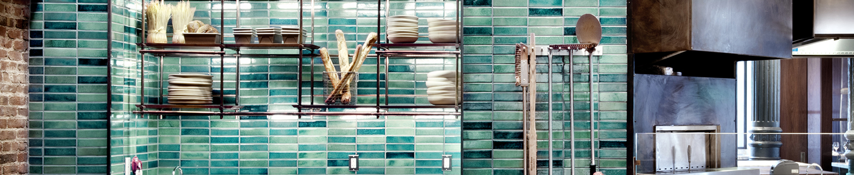 SenecaBrick Water Lily wall tile