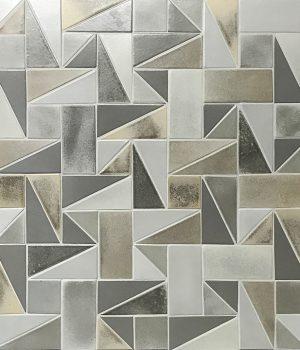 "4 x 4 tile, 4 x 8 tile, 4"" triangle, 4 x 8 triangle combination"