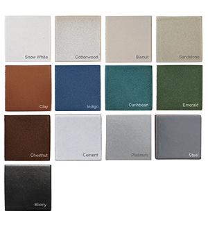 Seneca Glazed Color Palette