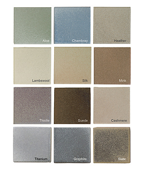 Seneca Satins Color Palette