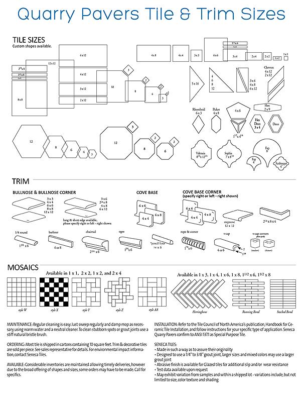 Senecasatins Seneca Tiles